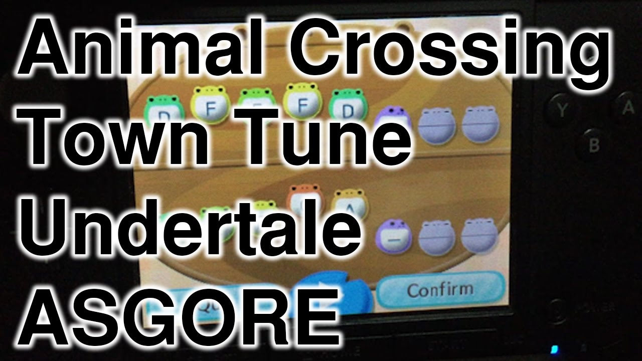 undertale animal crossing new leaf town tunes