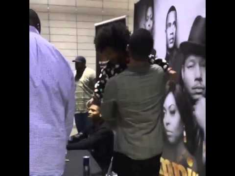 jamal & lola reunited today at empire sound track signing !!Please Subscribe!!