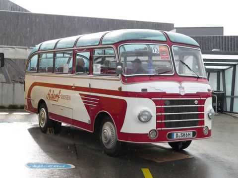 1. int. Vintage bus meeting Bern Switzerland