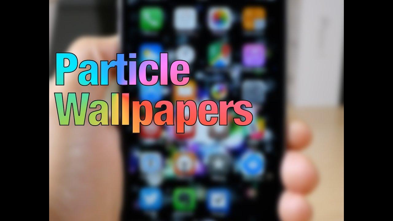Cydia Tweak: Particle Wallpapers