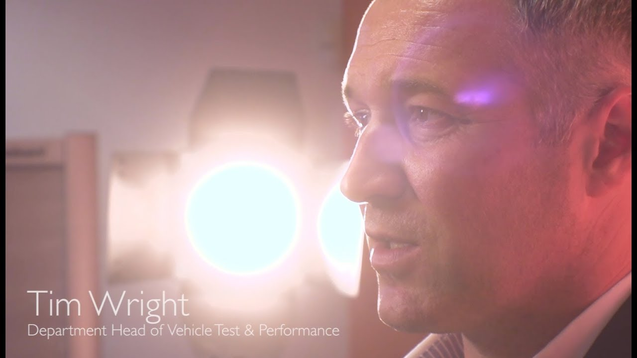 Tim Wright -车辆测试性能部门主管-从质量的角度看新时代。