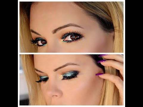 """MUG Foiled Eyeshadow Look & Review & how I """"Bake"""" to prevent creasing"""