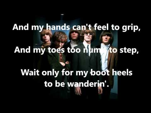 Mr  Tambourine Man  THE BYRDS (with lyrics)