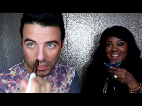 PR Unboxing with Celebrity Makeup Artist| Stila Cosmetics First Impressions| Makeup and Martinis|