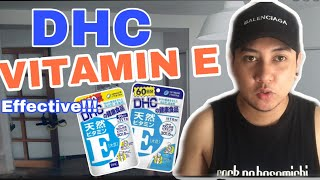 DHC vitamin E | Honest Review | Japan Product