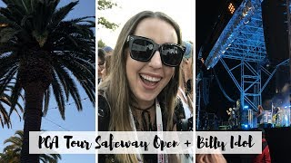 PGA TOUR SAFEWAY OPEN + BILLY IDOL CONCERT