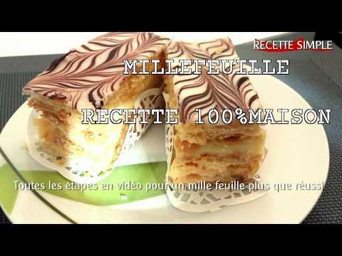mille-feuille-fait-maison-avec-pâte-feuilleté-facile