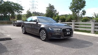 2013 Audi A6 hybrid Start-Up, Full Vehicle Tour and Quick Drive(Hello everyone! Today's video will be about the A6 hybrid. Do pardon me if I have made any mistakes throughout the video as this is my first Audi video in over 4 ..., 2014-09-05T19:07:20.000Z)
