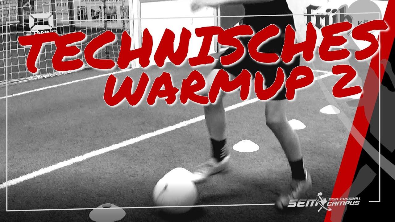 Technisches WarmUp 2 - SEM Fußballtraining