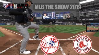 MLB The Show 19 - Gameplay (PS4 HD) Boston Vs Yankees