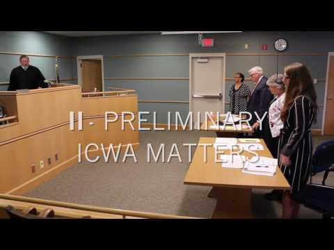 Nebraska ICWA Mock Trial - Part 1 & 2
