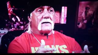 Hulk Hogan then and now
