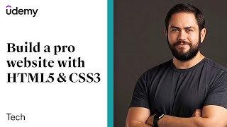 HTML5 & CSS Development: Learn How to Build a Professional Website | Udemy, Jordan Hudgens