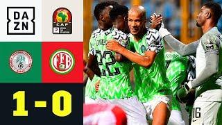 Super Eagles siegen dank Traum-Assist: Nigeria - Burundi 1:0 | Afrika-Cup | Highlights | DAZN