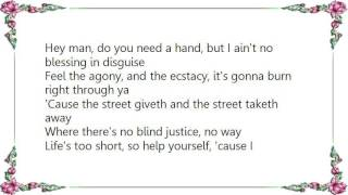 Kiss - The Street Giveth and the Street Taketh Away Lyrics