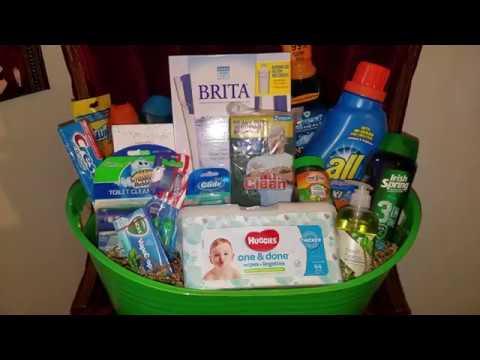 Gift Basket Raffle Prize Ideas 11 8 18 Youtube