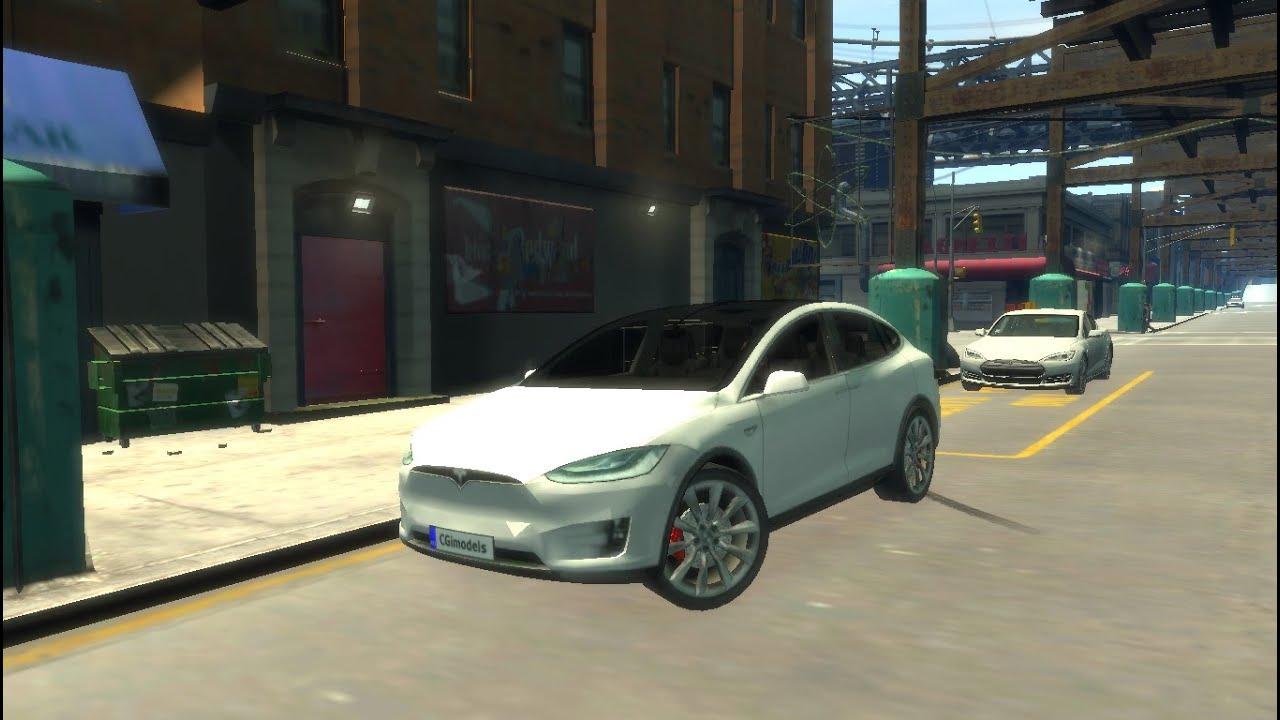 GTA IV Tesla Model X (WIP)