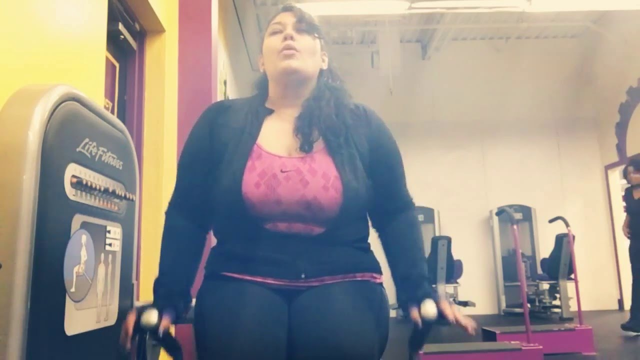 Workout Thursday.. Plus Size Planet Fitness Workout Video - YouTube