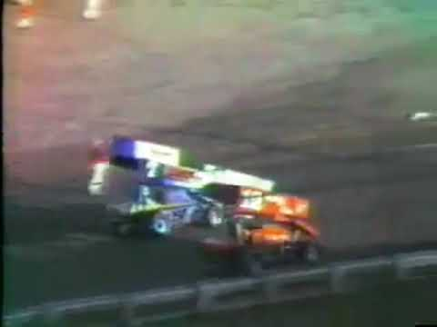 Mike Sargent - San Jose Speedway - (1986) - Trophy Dash - Win