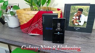 Samsung Galaxy Note 8 Unboxing And Impressions