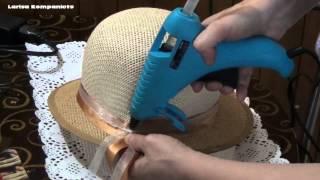 Украшение для шляпки. Как украсить летнюю шляпку.