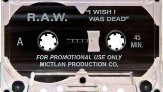 Dj R.A.W. & Mellinfunk (I wish I was Dead/Junglism) - R.A.W. Side