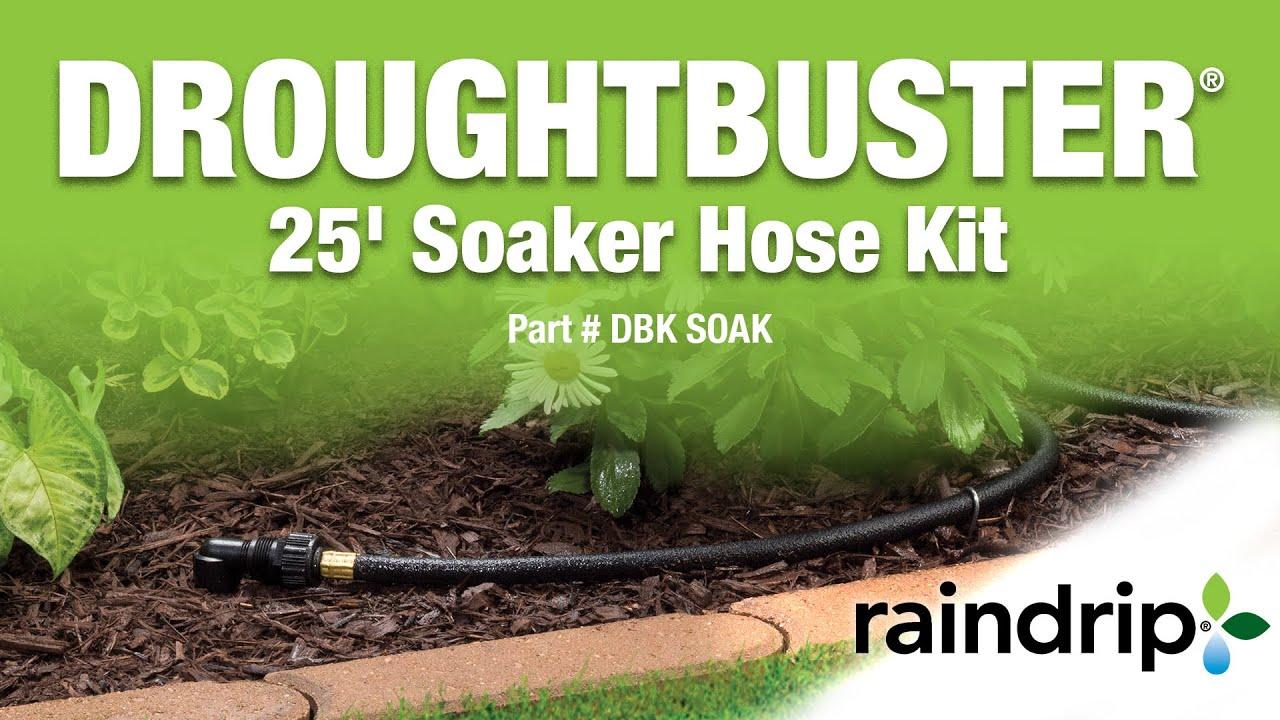 Droughtbuster 25 soaker hose kit youtube solutioingenieria Gallery