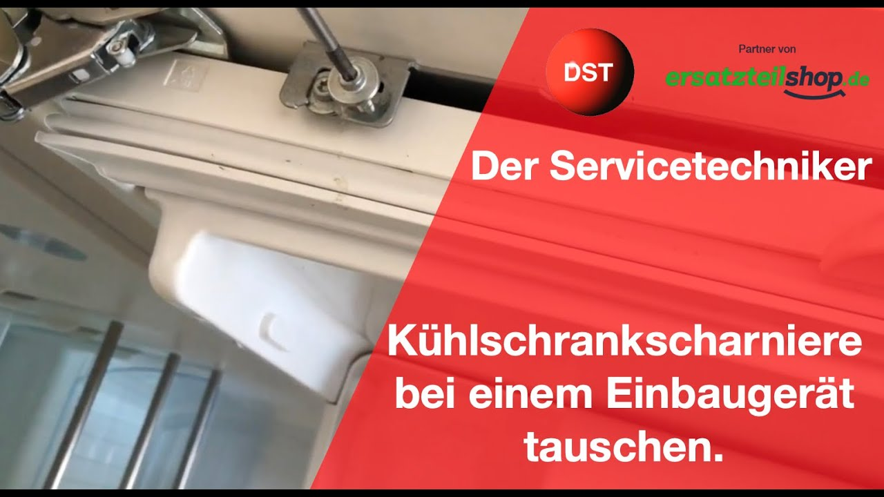 Siemens Kühlschrank Dichtung Wechseln : Kühlschrankscharniere defekt so einfach werden sie gewechselt youtube