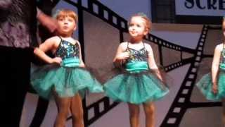 Penelope's First Dance Recital - Tap Routine