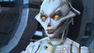 SWTOR IA First Conversation with SCORPIO - No Obligations