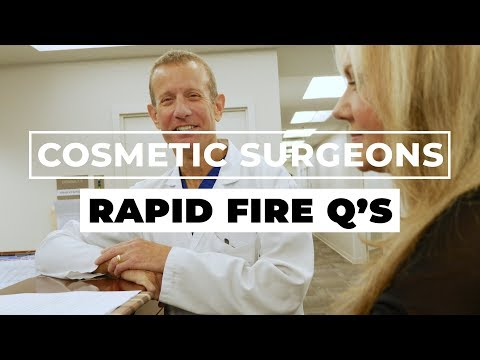 How Would A Cosmetic Surgeon Design A Spice Rack? | Rapid Fire Questions