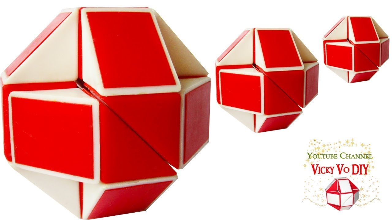 how to make a snake puzzle ball