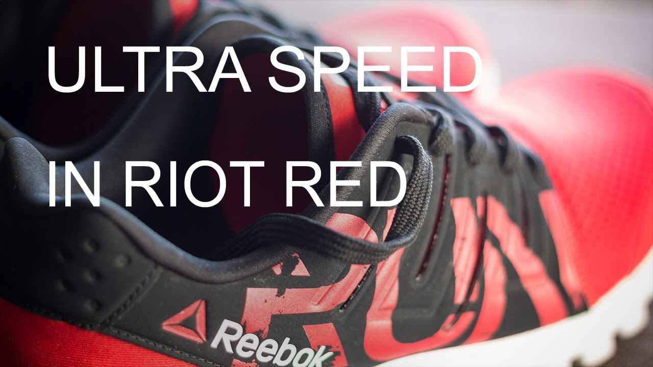 57d8a9ca8ea0f6 Reebok ULTRA SPEED Running Shoes impressions! - YouTube