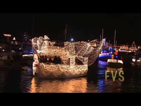 15473 Huntington Beach Christmas Boat Parade 2008