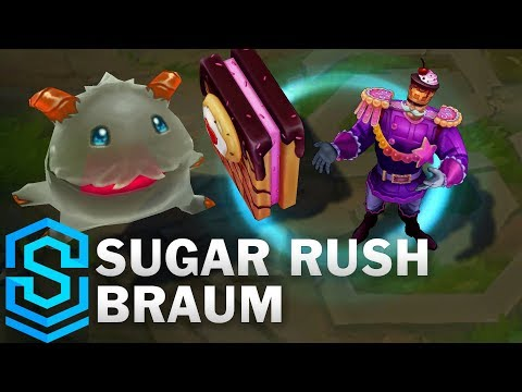 Sugar Rush Braum Skin Spotlight - League of Legends