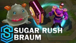 Sugar Rush Braum Skin Spotlight - League of Legends