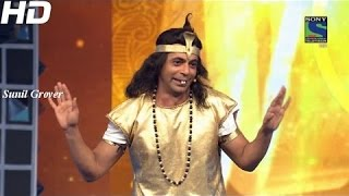 Sunil Grover Naagin Performance at  Guild Film Awards