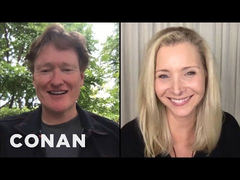 #CONAN: Lisa Kudrow Full Interview - CONAN on TBS