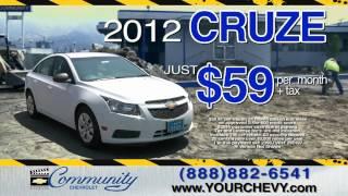 Community Chevrolet Construction Reduction Sale