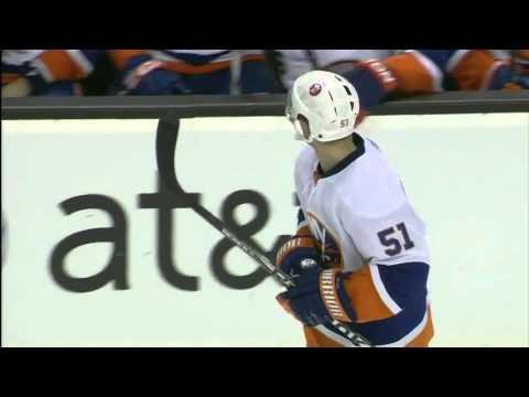 Frans Nielsen penalty shot goal 12/9/10