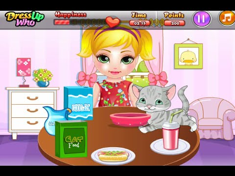 Baby Madison Cat Care Online Free Flash Game Videos GAMEPLAY