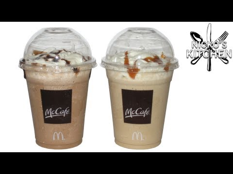 How to make McDonalds Frappe