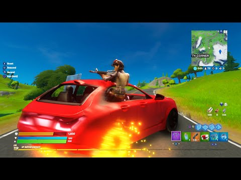 HOW TO DRIVE CARS IN FORTNITE! (NEW)