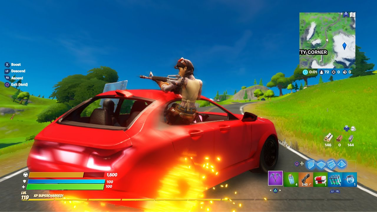 How To Drive Cars In Fortnite New Youtube