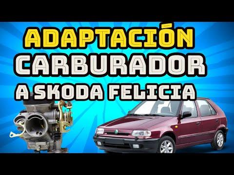 ADAPTACIÓN  Carburador A SKODA FELICIA 1300/adaptacion Carburador MAZDA 323