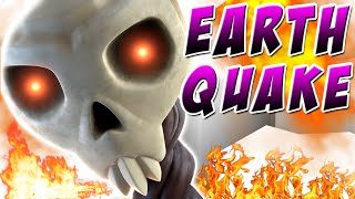 Clash of Clans UPDATE - NEW Earthquake Spell | Earthquake Dark Spell Update!