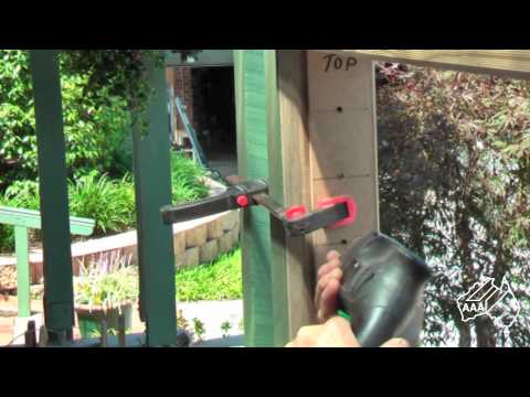 DIY Stainless Wire Balustrade  Using Allen Key Tensioners And Swaged Terminal Studs
