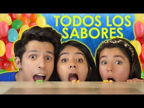 RETO FRIJOLITOS DE SABORES | RETO POLINESIO CON JELLY BEANS