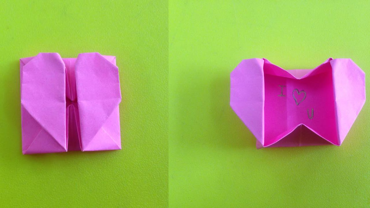 How to make a paper box | Easy origami box for beginners making ... | 720x1280