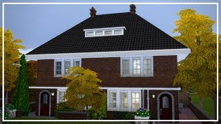 The Sims 4 Speed Build: Dutch 1930s Semi-Detached   SimmerNick